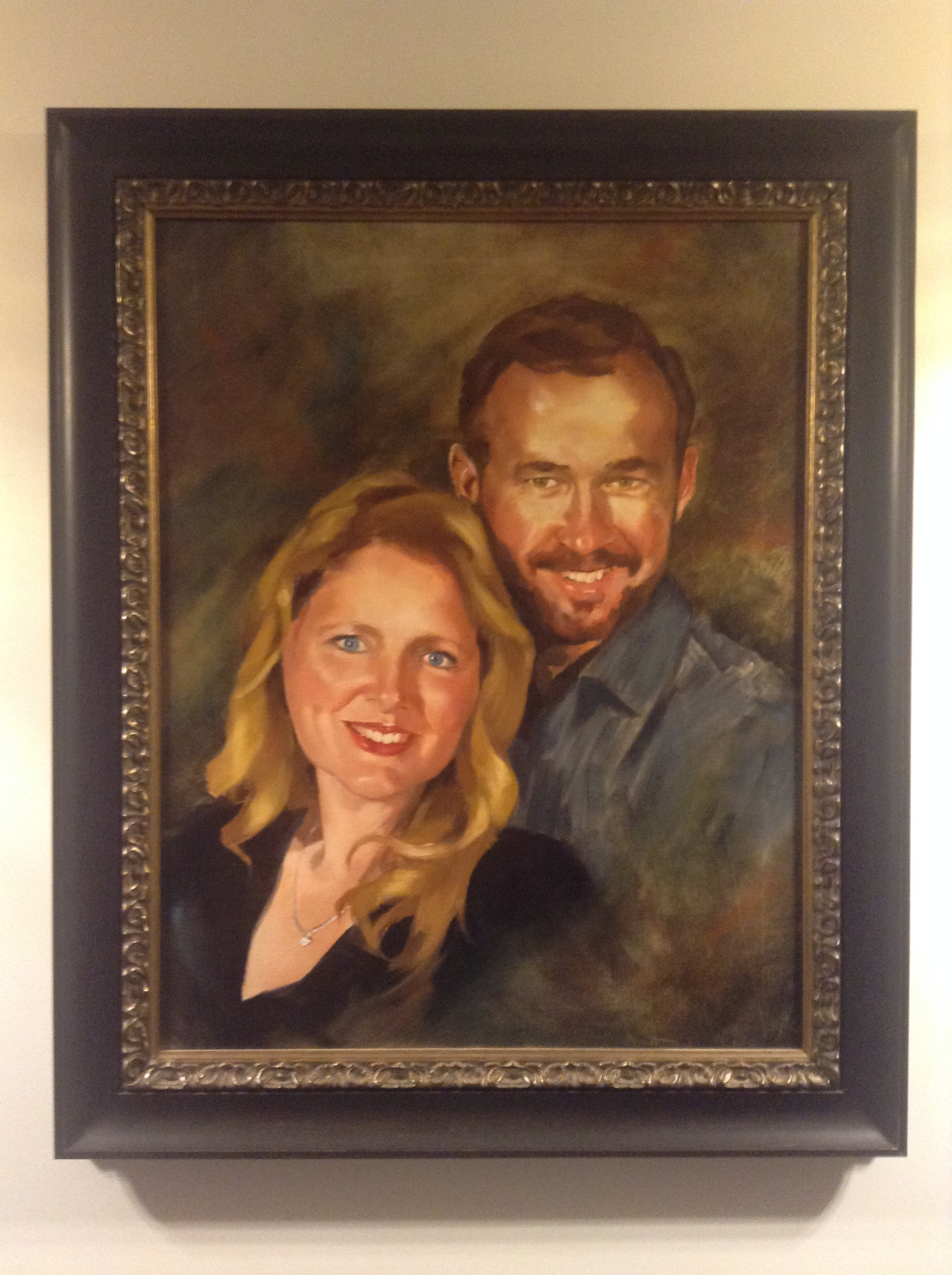 Family Oil Portraiture by Portrait Painter Marvin Mattelson